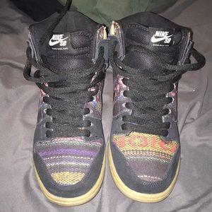 Nike Dunk High Pro Shoes Aztec Geometry